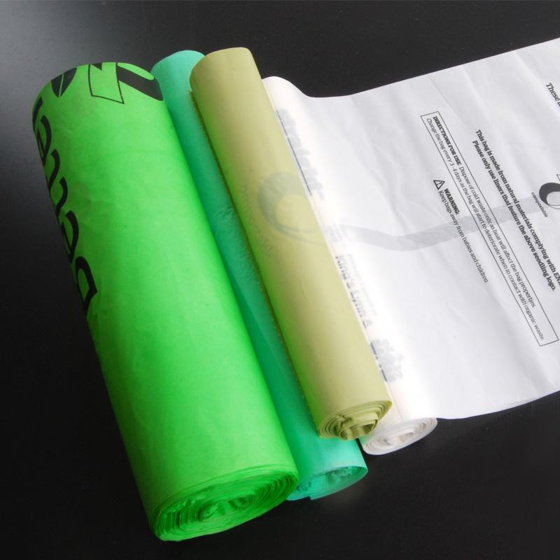 compostable bag biodegradable plastic sack
